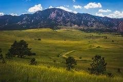 Fers à repasser de Boulder Photographie stock