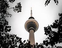 Fersehturm in Alaxendar Platz, Berlijn, Duitsland royalty-vrije stock afbeeldingen