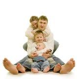 Fersen der Familie Stockfotografie