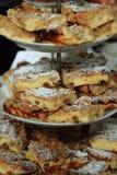 Fersh apple pie Stock Photo