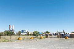 Fertigbetonlieferant in Kwaggafontein in Bloemfontein Stockfoto