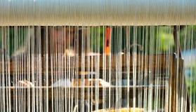 fertigkeiten Handwebstuhl Stockbild