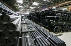 Fertigungbelüftungs-Rohre Lizenzfreie Stockfotos