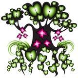 fertil tree för aple Arkivfoton