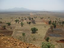 Fertile Land Ethiopia Royalty Free Stock Photos