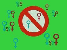 Fertilità sotto il controllo. Fotografia Stock Libera da Diritti