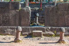 Fertility temple in the peruvian Andes at Puno Peru Royalty Free Stock Images