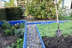 Fertilización del verde del otoño fotografía de archivo libre de regalías