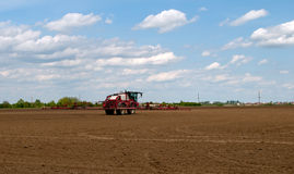 Fertilizante agrícola Fotos de archivo libres de regalías