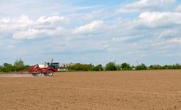 Fertilizante agrícola Imagen de archivo libre de regalías