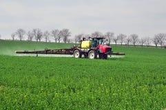 Fertilization field Royalty Free Stock Photo