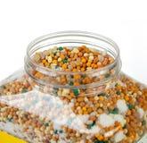 Fertilizer granules Stock Images