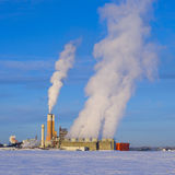 Fertilizer processing plant Stock Photos