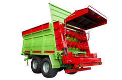 Fertilizer spreader Stock Image