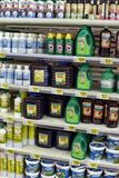 Fertilizers for flowers in the store