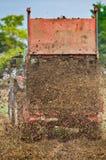 Fertilizing field Royalty Free Stock Image