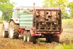 Fertilizing field Stock Photos