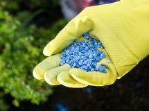 Fertilizzante Fotografie Stock