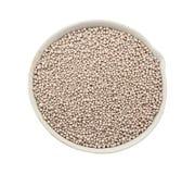 Fertilizzanti minerali compositi in una tazza chimica della porcellana Fotografia Stock