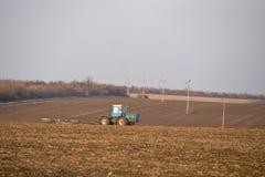 Fertilizzi la terra Immagini Stock Libere da Diritti