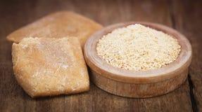 Ferulaassafoetida eller Hing krydda arkivfoton