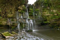 Fervençawatervallen - Portugal Stock Afbeeldingen