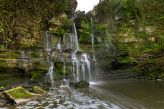 Fervença-Wasserfälle - Portugal Stockbilder