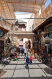 fes摩洛哥老城镇 免版税库存图片
