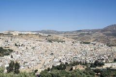 fes摩洛哥 闹事 免版税库存照片