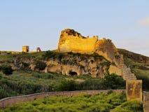 Fes,摩洛哥墙壁  库存照片