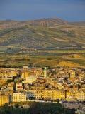 Fes,摩洛哥都市风景  免版税库存图片