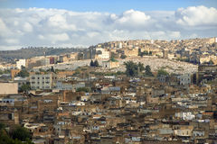 Fes with cemetery - Morocco Royalty Free Stock Photography
