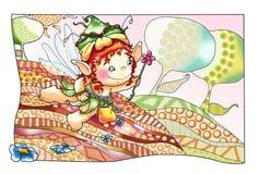 Fées et elfes 5, la source Photo stock