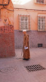 FES, MAROCCO - October 22, 2013 : Man beautifully dressed up on Royalty Free Stock Image