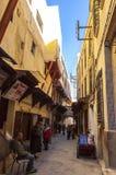 fes medina摩洛哥 免版税库存图片