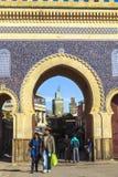 fes medina摩洛哥 库存图片
