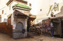 fes medina Μαρόκο Στοκ φωτογραφία με δικαίωμα ελεύθερης χρήσης