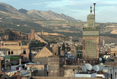 fes morocco Arkivbild