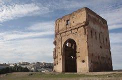 fes morocco fördärvar Arkivfoto
