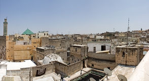 Fes skyline. Royalty Free Stock Images
