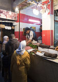 Fes souk的布契尔  免版税库存照片