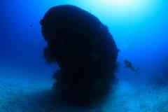 Fesdu shipwreck stock image