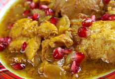 Fesenjan Persian Chicken Stew Royalty Free Stock Photo