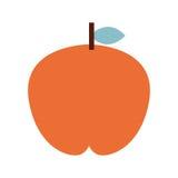 Fesh fruit  apple  isolated icon design. Illustration  graphic Royalty Free Stock Photography