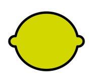 Fesh fruit lemon, isolated icon design. Fesh fruit lemon  isolated icon design,  illustration  graphic Stock Images