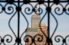 fesminaret morocco Arkivbild