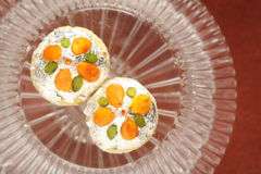 Fesstival de snoepjesbakkerij van voedselsnacks Stock Foto's