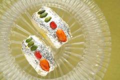 Fesstival de snoepjesbakkerij van voedselsnacks Stock Afbeelding