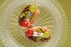 Fesstival de snoepjesbakkerij van voedselsnacks Stock Afbeeldingen