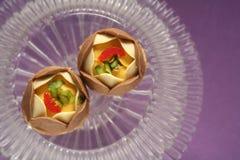 Fesstival de snoepjesbakkerij van voedselsnacks Royalty-vrije Stock Foto